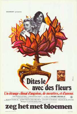 Say It with Flowers - 11 x 17 Movie Poster - Belgian Style A