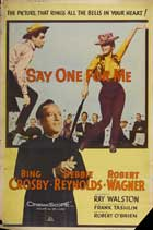 Say One For Me - 27 x 40 Movie Poster - Style B
