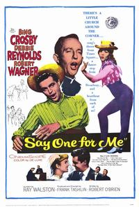 Say One For Me - 27 x 40 Movie Poster - Style A