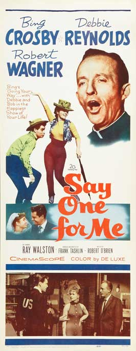 Say One For Me - 14 x 36 Movie Poster - Insert Style A