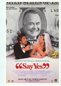 Say Yes - 11 x 17 Movie Poster - Style A