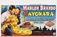 Sayonara - 27 x 40 Movie Poster - Belgian Style A