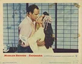 Sayonara - 11 x 14 Movie Poster - Style C