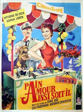 Scandal in Sorrento - 11 x 17 Movie Poster - French Style A