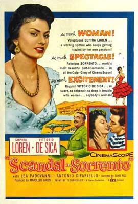 Scandal in Sorrento - 11 x 17 Movie Poster - Style A