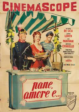 Scandal in Sorrento - 27 x 40 Movie Poster - Italian Style A