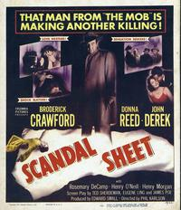 Scandal Sheet - 11 x 17 Movie Poster - Style A