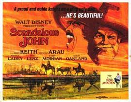 Scandalous John - 11 x 14 Movie Poster - Style A
