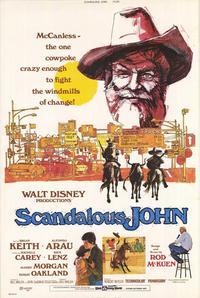 Scandalous John - 27 x 40 Movie Poster - Style A