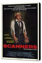 Scanners - 27 x 40 Movie Poster - Style A - Museum Wrapped Canvas