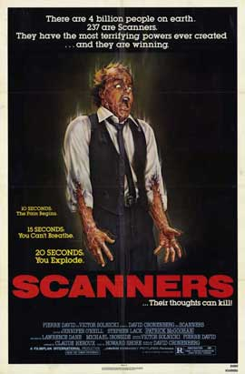 Scanners - 11 x 17 Movie Poster - Style A
