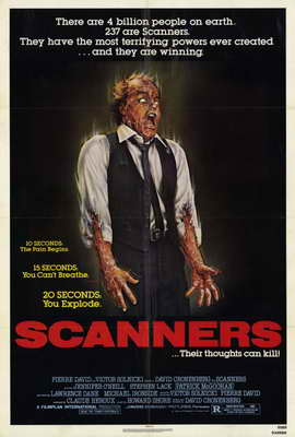 Scanners - 27 x 40 Movie Poster - Style A