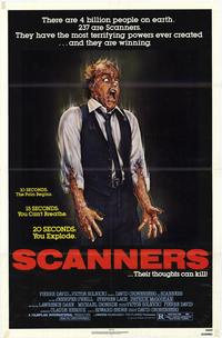 Scanners - 43 x 62 Movie Poster - Bus Shelter Style A