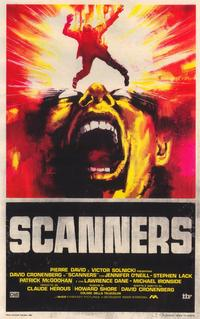 Scanners - 39 x 55 Movie Poster - Italian Style A