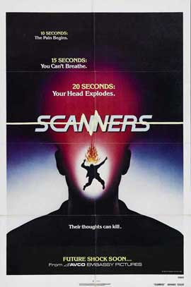 Scanners - 11 x 17 Movie Poster - Style D