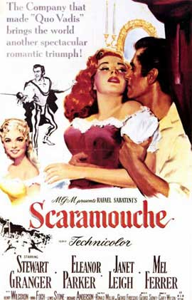 Scaramouche - 11 x 17 Movie Poster - Style B