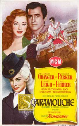 Scaramouche - 11 x 17 Movie Poster - Spanish Style A