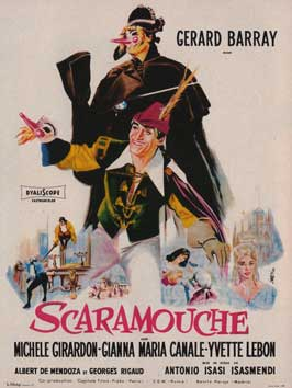 Scaramouche - 11 x 17 Movie Poster - French Style A