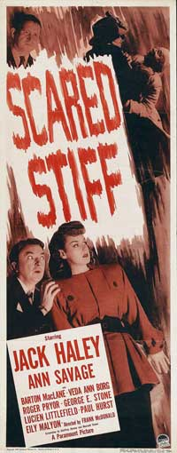 Scared Stiff - 14 x 36 Movie Poster - Insert Style A