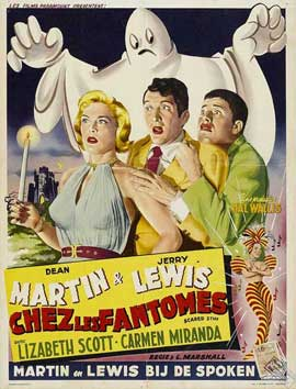 Scared Stiff - 11 x 17 Movie Poster - French Style A