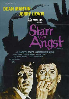 Scared Stiff - 11 x 17 Movie Poster - German Style A