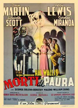 Scared Stiff - 11 x 17 Movie Poster - Italian Style A