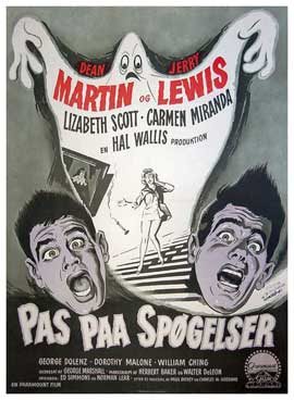 Scared Stiff - 11 x 17 Movie Poster - Danish Style A