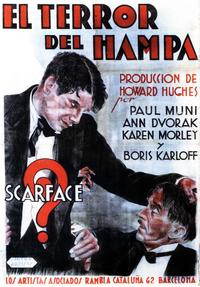 Scarface - 11 x 17 Movie Poster - Spanish Style B
