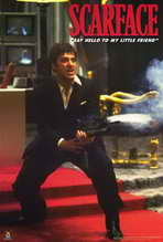 Scarface - 27 x 40 Movie Poster - Style H