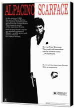 Scarface - 11 x 17 Movie Poster - Style B - Museum Wrapped Canvas