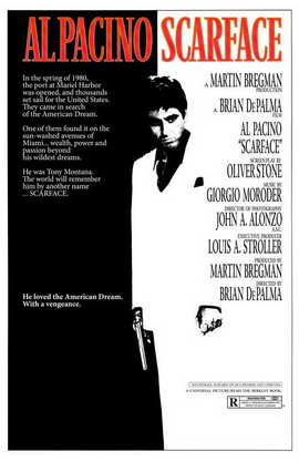 Scarface - 11 x 17 Movie Poster - Style B