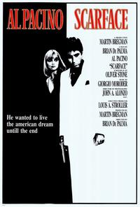 Scarface - 27 x 40 Movie Poster - Italian Style A