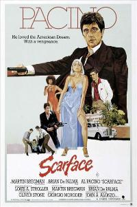 Scarface - 27 x 40 Movie Poster - Style J