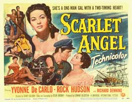 Scarlet Angel - 11 x 14 Movie Poster - Style A