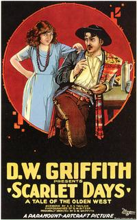 Scarlet Days - 43 x 62 Movie Poster - Bus Shelter Style A