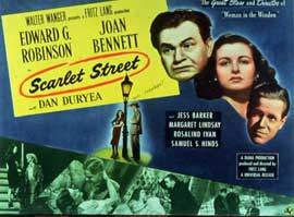 Scarlet Street - 11 x 14 Movie Poster - Style B