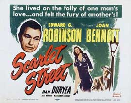 Scarlet Street - 11 x 17 Movie Poster - Style C