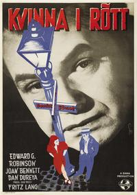 Scarlet Street - 27 x 40 Movie Poster - Swedish Style D