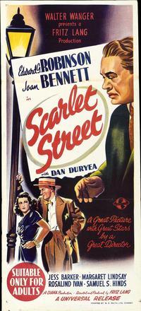 Scarlet Street - 14 x 36 Movie Poster - Australian Style A