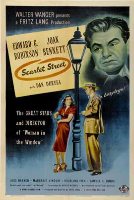 Scarlet Street - 27 x 40 Movie Poster - Style C