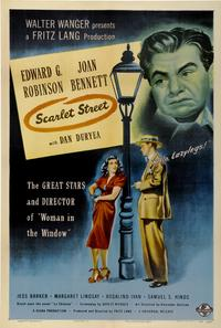 Scarlet Street - 43 x 62 Movie Poster - Bus Shelter Style A