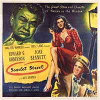 Scarlet Street - 40 x 40 - Movie Poster - Style A