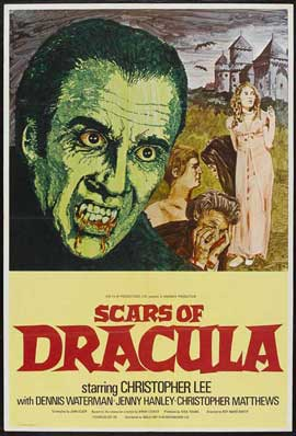 Scars of Dracula - 11 x 17 Movie Poster - Style A
