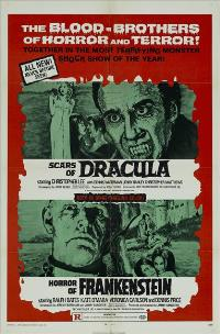 Scars of Dracula - 11 x 17 Movie Poster - Style B