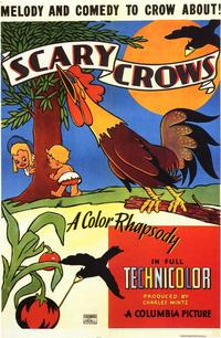 Scary Crows - 11 x 17 Movie Poster - Style A