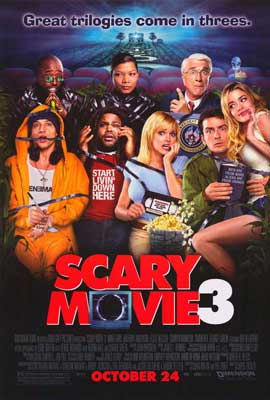 Scary Movie 3 - 27 x 40 Movie Poster - Style B