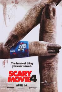 Scary Movie 4 - 11 x 17 Movie Poster - Style B