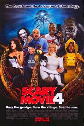 Scary Movie 4 - 11 x 17 Movie Poster - Style D