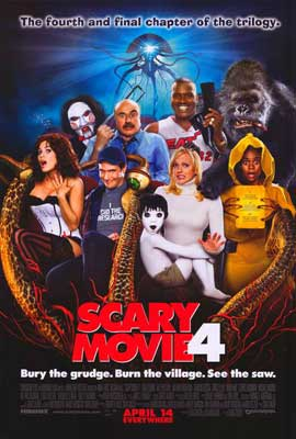 Scary Movie 4 - 27 x 40 Movie Poster - Style D