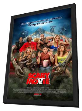 Scary Movie 5 - 11 x 17 Movie Poster - Style A - in Deluxe Wood Frame
